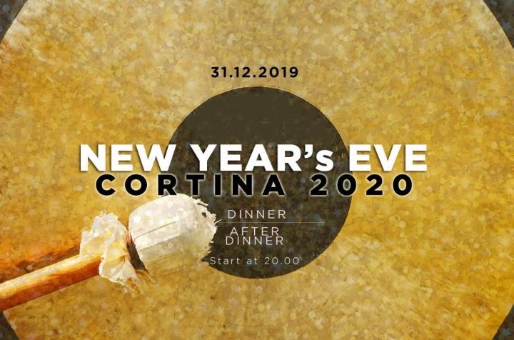 Capodanno 2020 Ristorante Fusion Restaurant Cenone Party Locandina